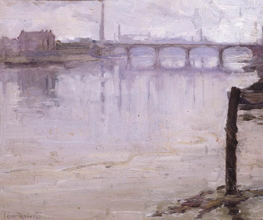 Tom Roberts - The Thames Near Battersea