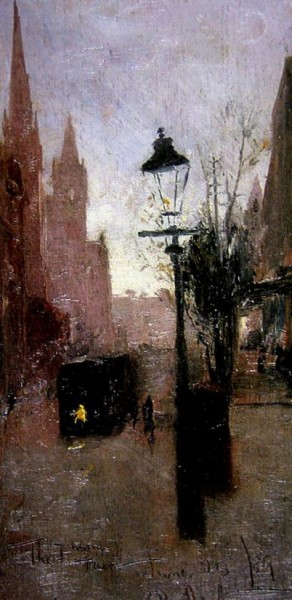 Tom Roberts - The First Tram