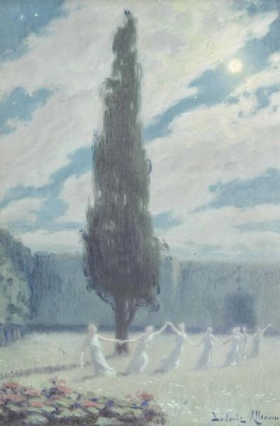 Ludovic Alleaume - Farandoleuses Maidens dancing