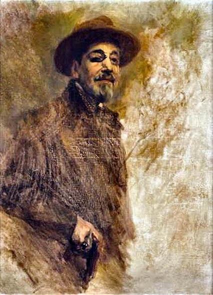 Columbano Bordalo Pinheiro - Self-portrait