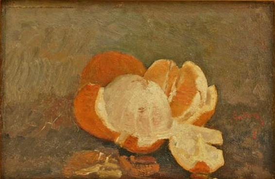 Ion Andreescu - Peeled Orange