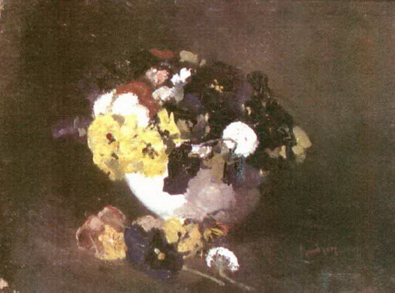 Ion Andreescu - Pansies