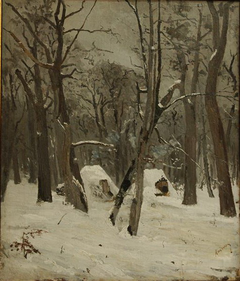 Ion Andreescu - the winter
