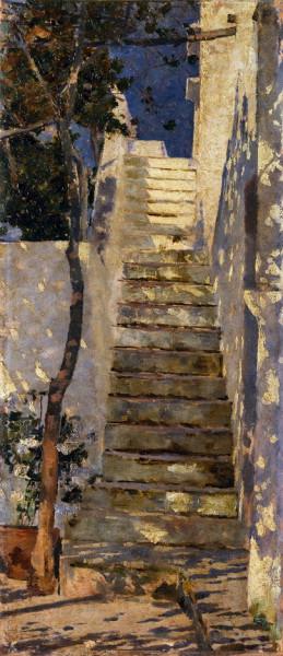 Henrique Pousao - Rua de Capri 2
