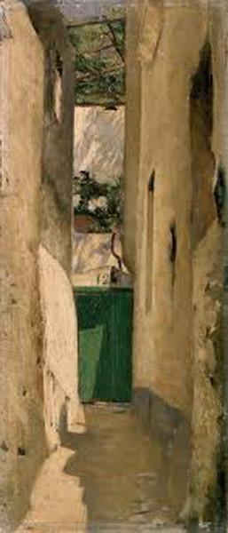 Henrique Pousao - Rua de Capri