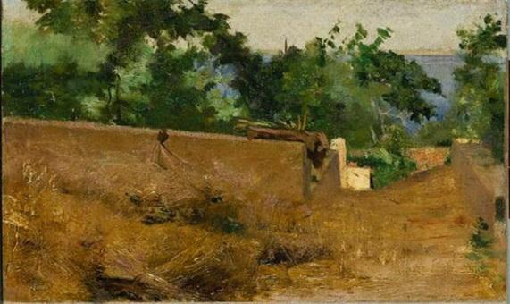 Henrique Pousao - caminho capri
