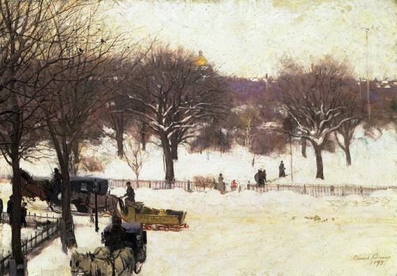 Edward  Simmons - Boston Public Garden