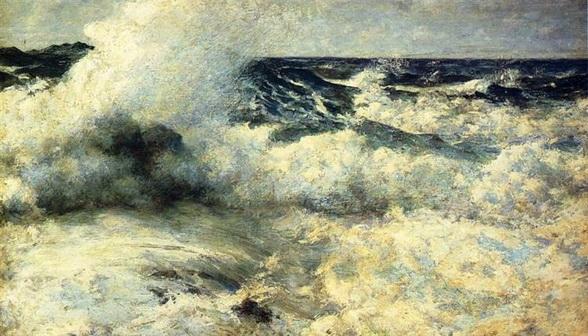 Edward  Simmons - high sea