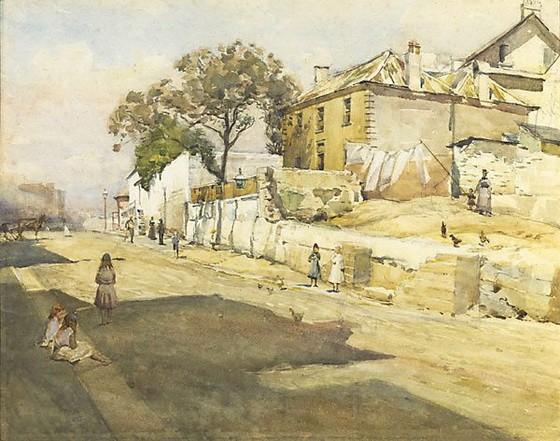 Julian Rossi Ashton - Old houses