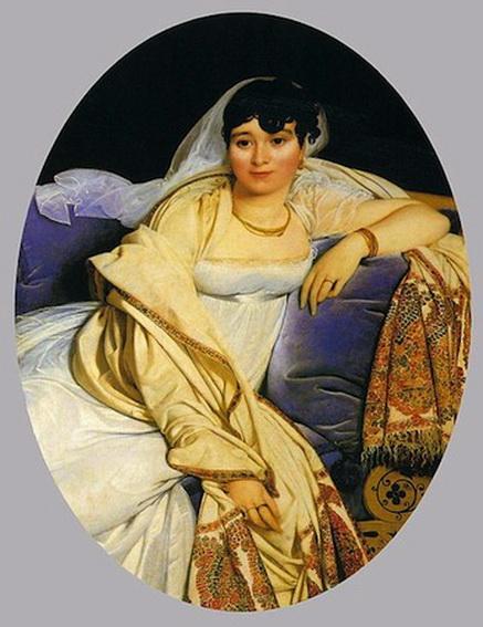 Jean Auguste Ingres - Madame Riviere
