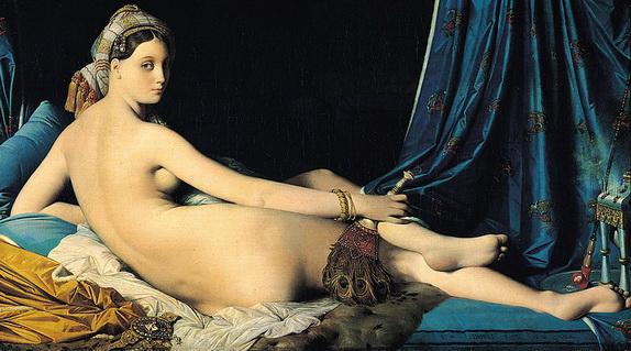 Jean Auguste Ingres - La Grande Odalisque