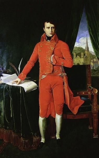 Jean Auguste Ingres - Napoleon Bonaparte
