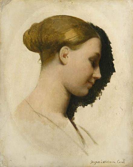 Jean Auguste Ingres - Madame Edmond Cave