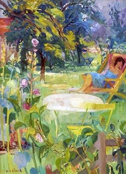 Paul Collomb - La chaise lounge