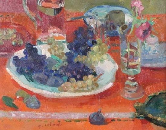 Paul Collomb - La Nappe Orange