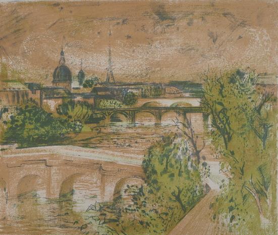 Paul Collomb - Paris sur la Seine