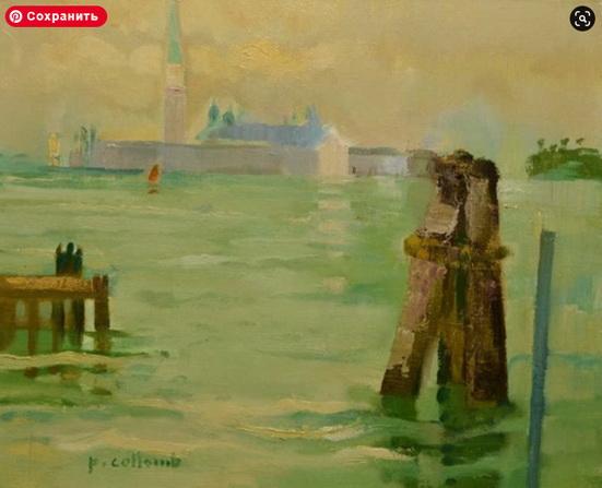Paul Collomb - San Giorgio, Venise