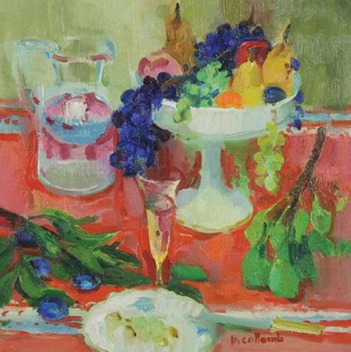 Paul Collomb - Nature morte au fruit