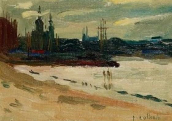 Paul Collomb - Peniches sur la Seine