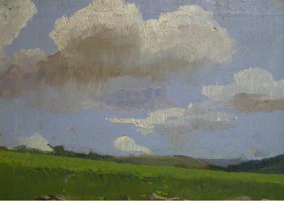 Ladislav Mednansky - Облачный  пейзаж