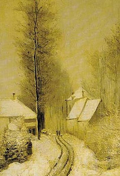 Periklis Pantazis - Snowy landscape