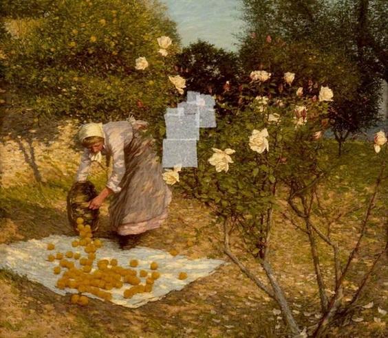 Henry Herbert La Thangue - Provencal Winter