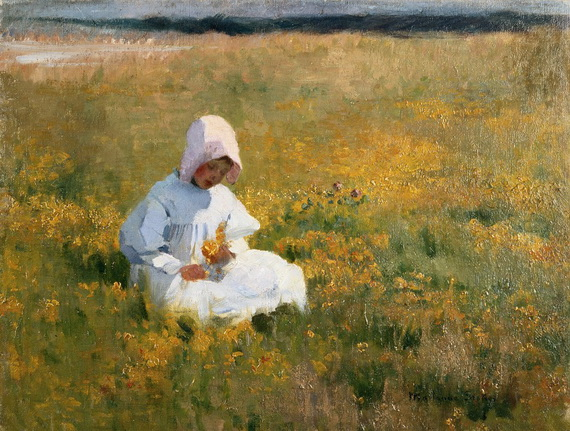 Marianne Stokes - In the Meadow