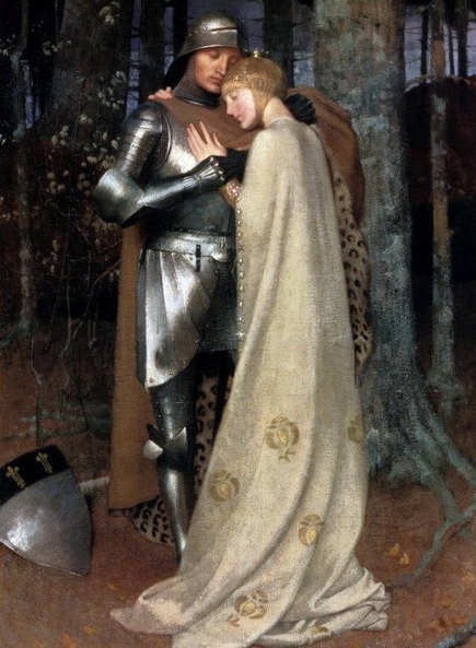 Marianne Stokes - Aucassin and Nicolette