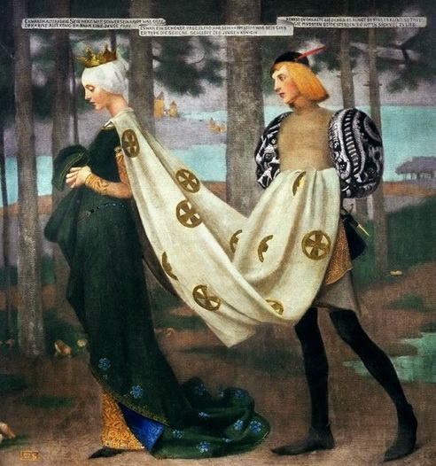 Marianne Stokes - Queen and the Page