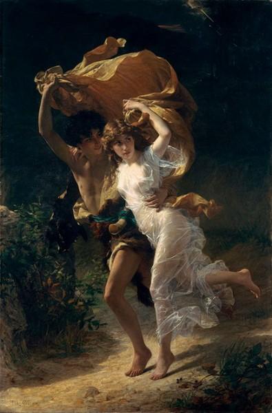 Pierre Auguste Cot - The Storm