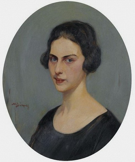 Nikiforos Lytras - portrait of a woman