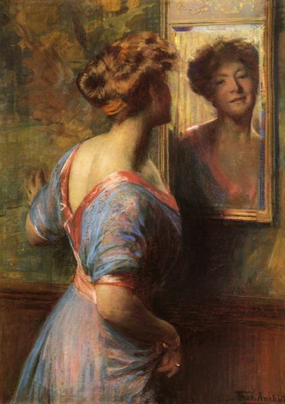 Thomas Pollock Anshutz - A Passing Glance