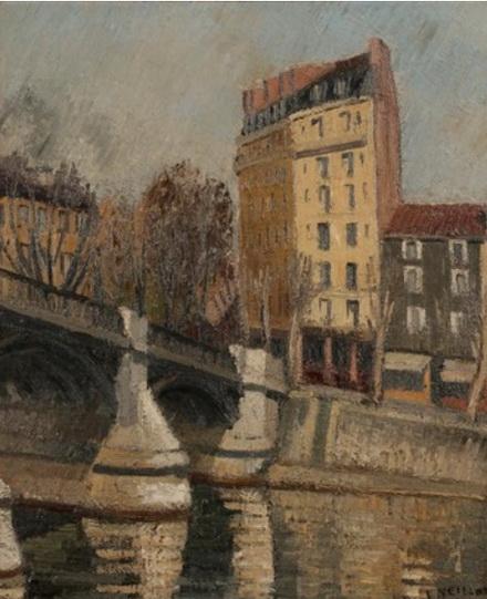 Louis Neillot - Paris, le Pont Marie