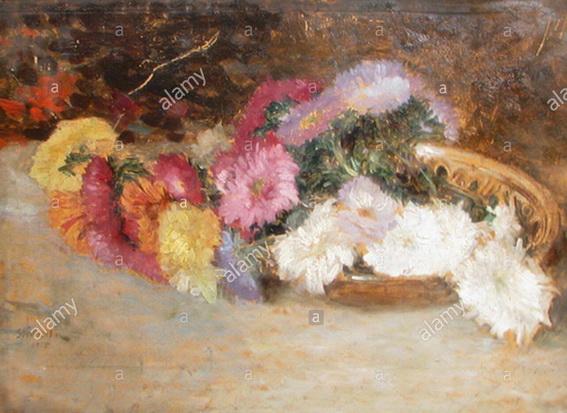 Ipolit Strambu - cos cu flori