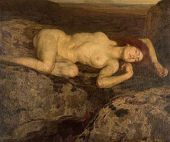 Alfred Sohn-Rethel - RECLINING FEMALE