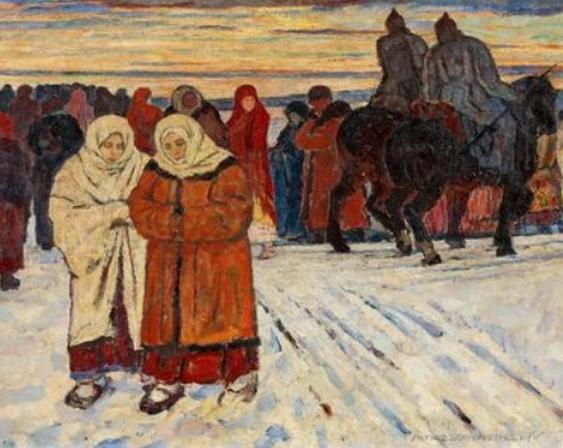 Alfred Sohn-Rethel - Marsch durch den Winter