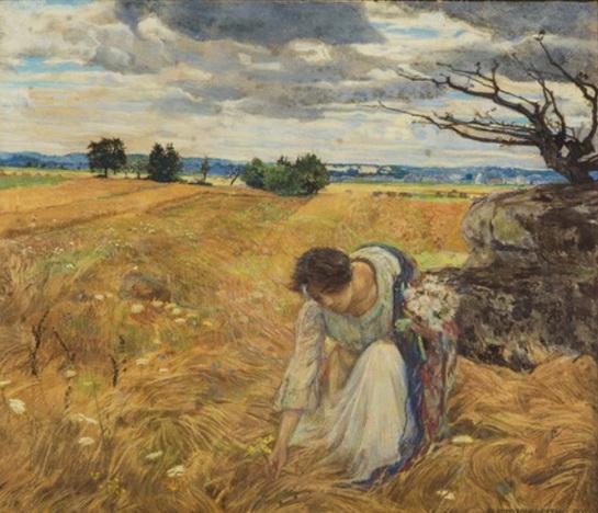 Alfred Sohn-Rethel - Madchen im Feld