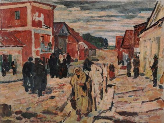 Alfred Sohn-Rethel - Pogrom in der Kleinstadt