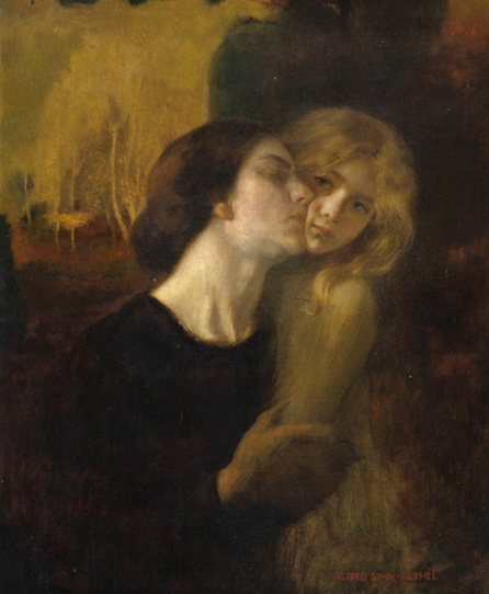 Alfred Sohn-Rethel - Mutter und Tochter