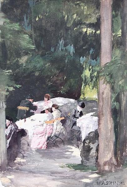 Alfred Sohn-Rethel - Jacobigarten
