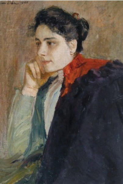 Otto Sohn-Rethel - Portrait of the artist's wif