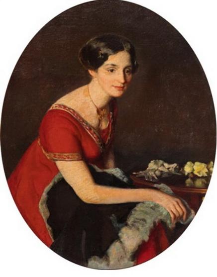 Otto Sohn-Rethel - Frau im roten Kleid