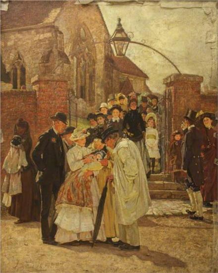 James Charles - Christening Sunday