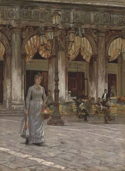 James Charles - Cafe Chioggia, Piazza San Marco, Venice