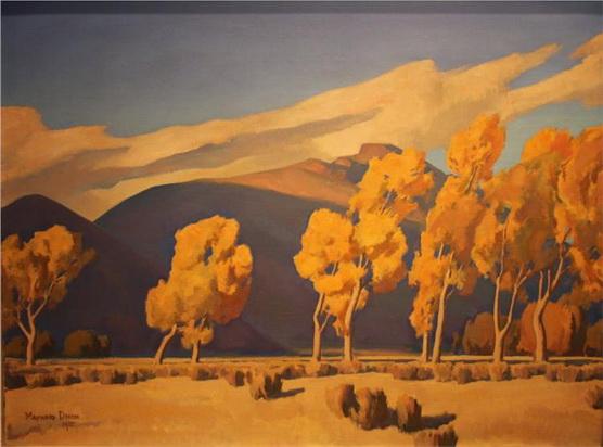 Maynard Dixon - November in Nevada