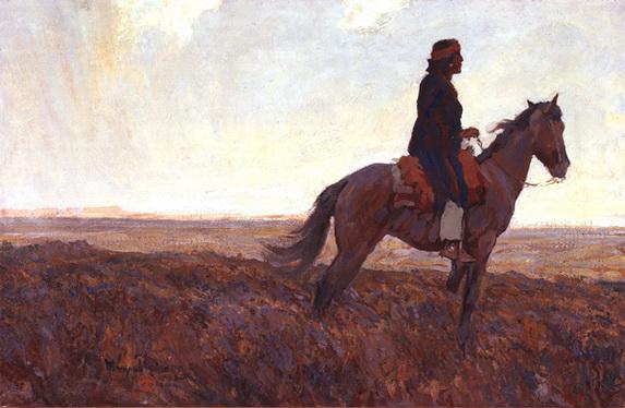 Maynard Dixon - The Navajo