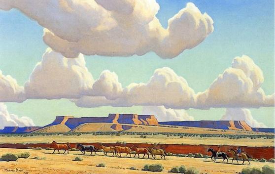 Maynard Dixon - Wide Lands of the Navajo