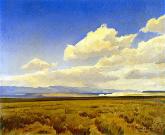 maynard dixon - Wind of Wyoming