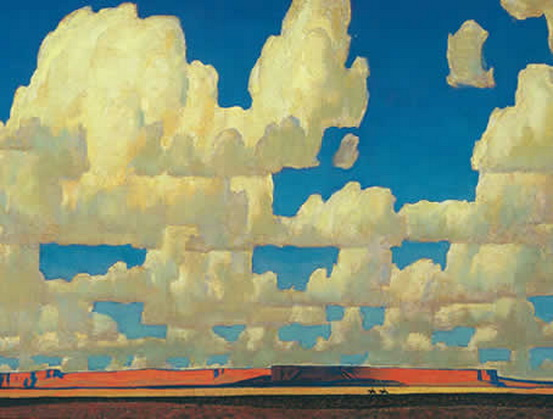 Maynard Dixon - Cloud World