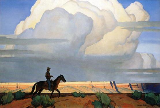 Maynard Dixon - desert journey